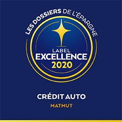 Label Excellence - Crédit Auto