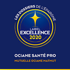 Label d'excellence Ociane Santé Pro